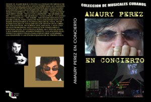 Amaury Perez in Conciert-Cuban DVDs and movies-Free S&H Worldwide.