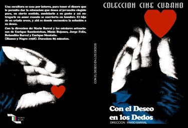 With Desire on the fingers-Cuban DVDs and movies-Free S&H Worldwide.