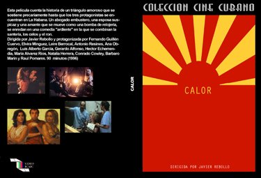 Heat and Jealousy .Brand NEW.Cuban DVDs and movies-Free S&H Worldwide.