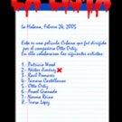 Cuban movie-La Lista.Comedia.NUEVA.Pelicula DVD.