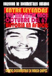 Cuban movie-Cuatro Documentales del Che.Pelicula DVD.Entre Leyendas.Cuba.NUEVA.