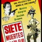 Cuban movie.Siete Muertes a Plazo Fijo.Pelicula DVD.Cuba.Nuevo.Fantasy.NEW.Film.