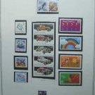 USA Stamps on Scott Page of MNH 1988 - E5205