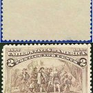 1893 USA USED Scott# 231 – 2c Landing of Columbus