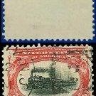 1901 USA USED Scott# 295 – 2c Fast Express –  Pan-American Series