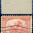 1920 USA USED Scott# 549 – 2c Landing of the Pilgrims – Pilgrim Tercentenary Issue