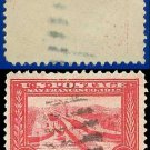 1913 USA USED Scott# 398 – 2c Panama Canal – Panama-Pacific Issue