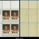 1968 USA Mint No Hinge Scott# 1364 Plate Number Block of Four – 6c Chief Joseph