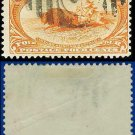 1898 USA USED Scott# 287 – 4c Indian Hunting Buffalo – Trans-Mississippi Series