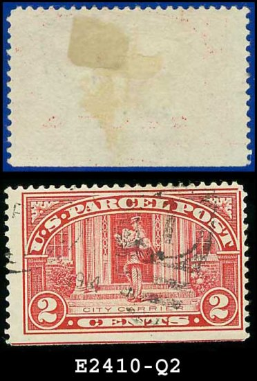 1912-13 USA Scott# Q2 USED  � 2c City Carrier � Parcel Post Issue