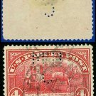 1912-13 USA Scott# Q4 USED – 4c Rural Carrier – Parcel Post Issue