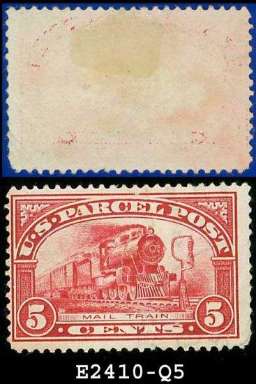 1912-13 USA Scott# Q5 USED � 5c Mail Train � Parcel Post Issue