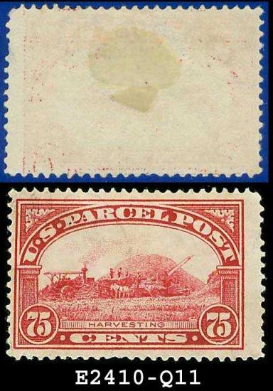 1912-13 USA Scott# Q11 USED � 75c Harvesting � Parcel Post Issue