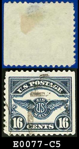 1923 USA USED C5 � Air Service Emblem 16c Airmail E0077