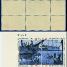 1973 USA MNH Sc# 1480-83 Plate# Block of Four – 8c Boston Tea Party - 1973 Commemoratives