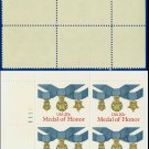 1983 USA MNH Sc# 2045 Plate# Block of Four – 20c Medal of Honor - 1983 Military Service Medal