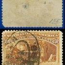 1893 USA USED Scott# 239 – 30c Columbus at La Rabida – 1893 Columbians