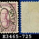 1932 USA USED Scott# 725 – 3c Violet Webster – 1932 Commemoratives
