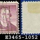 1954-61 USA USED Scott# 1052 – $1 Patrick Henry – 1954-61 Liberty Series