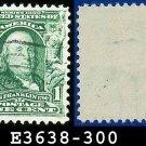 1902-03 USA USED Scott# 300 – 1c Franklin 1st Postmaster General – 1902-03 Regular Series