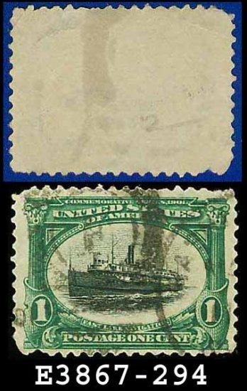 1901 USA USED Scott# 294 � 1c Fast Lake Navigation �  Pan-American Series