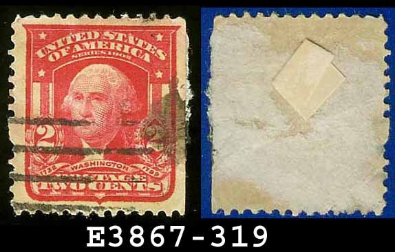 1902-03 USA USED Scott# 319 � 2c Washington Father of Our Country � 1902-03 Regular Series