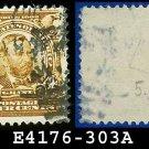 1902-03 USA USED Scott# 303 – 4c Grant 18th US President – 1902-03 Regular Series Perf 12