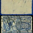 1917 USA USED E11 – 10c Ultramarine Messenger on Bicycle - Special Delivery Issue