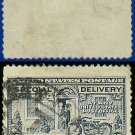 1922-25 USA USED E12 – 10c Grey Violet Motorcycle Delivery - Special Delivery Issue