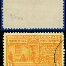 1927-51 USA USED E16 – 15c Orange Motorcycle Delivery - Special Delivery Issue