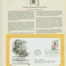 1980 USA FDC Scott# 1826 – Jul 23 – General Bernardo de Galvez on Cachet Addressed Cover E4859P