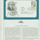 1981 USA FDC Scott# 1874 – Jan 4 – Honoring Everett M Dirksen on Cachet Addressed Cover E4859P