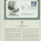 1982 USA FDC Scott# 1950 – Jan 30 – Franklin D Roosevelt on Cachet Addressed Cover E4859P