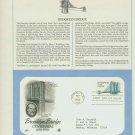 1983 USA FDC Scott# 2041 – May 17 – Brooklyn Bridge Centennial on Cachet Addressed Cover E4859P