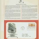 1983 USA FDC Sc# 2054 – Sep 14 – Metropolitan Opera Centennial on Cachet Addressed Cover E4859P
