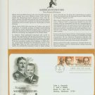 1983 USA FDC Sc# 2057-8 – Sep 21 – Honoring Americas Inventors on Cachet Addressed Cover E4859P