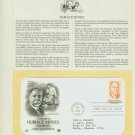 1984 USA FDC Scott# 2095 – Aug 6 – Tribute to Horace Moses on Cachet Addressed Cover E4859P