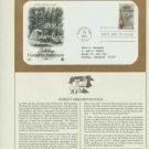 1984 USA FDC Sc# 2096 – Aug 13 Forest Fire Prevention, Smokey Bear Cachet Addressed Cover E4859P