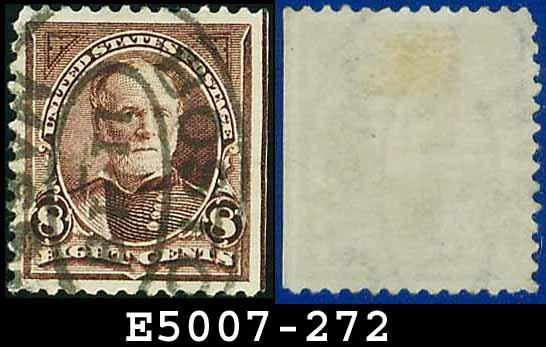 1895 USA USED Scott# 272 � 8c Sherman - 1895 Bureau Issues