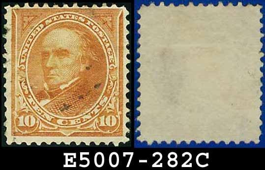 1898 USA USED Scott# 282C � 10c Webster Type I - 1898 Regular Issue