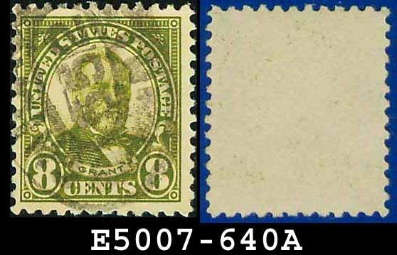 1926-28 USA USED Scott# 640 - 8c Grant - 1926-28 Regular Issue