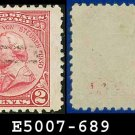 1930-31 USA USED Scott# 689 – 2c Von Steuben – 1930-31 Commemoratives