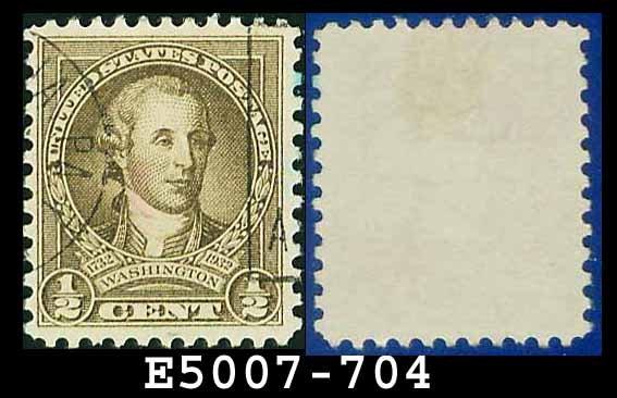 1932 USA USED Sc# 704 � 1/2c Washington � 1932 Washington Bicentennial Issue