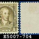 1932 USA USED Sc# 704 – 1/2c Washington – 1932 Washington Bicentennial Issue