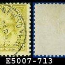 1932 USA USED Scott# 713 – 8c Washington – 1932 Washington Bicentennial Issue