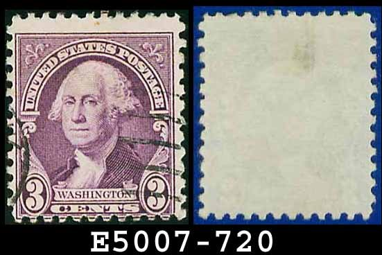 1932 USA USED Scott# 720 � 3c Washington � 1932 Regular Issue