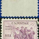 1933 USA USED Scott# 732 – 3c Group of Workers – 1932 National Recovery Act