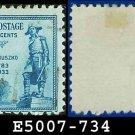1933 USA USED Scott# 734 – 5c General Kosciuszko – 1933 Commemoratives