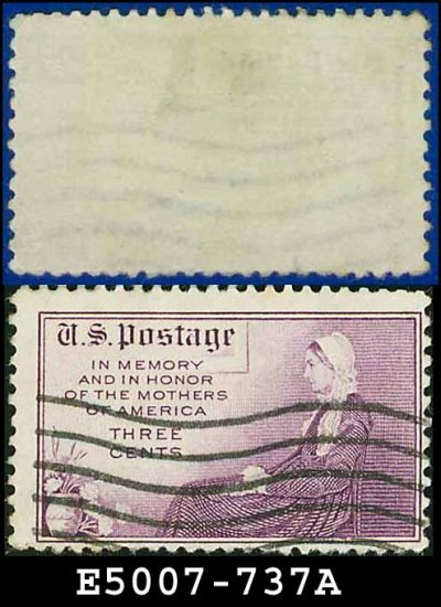 1934 USA USED Scott# 737 � 3c Whistler's Mother � 1934 Mothers Day Issue