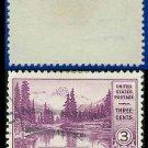 1934 USA USED Scott# 742 – 3c Mt. Rainier – 1934 National Parks Issue